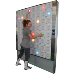 IMM T-Wall interactive light wall supplied by iActive Tech