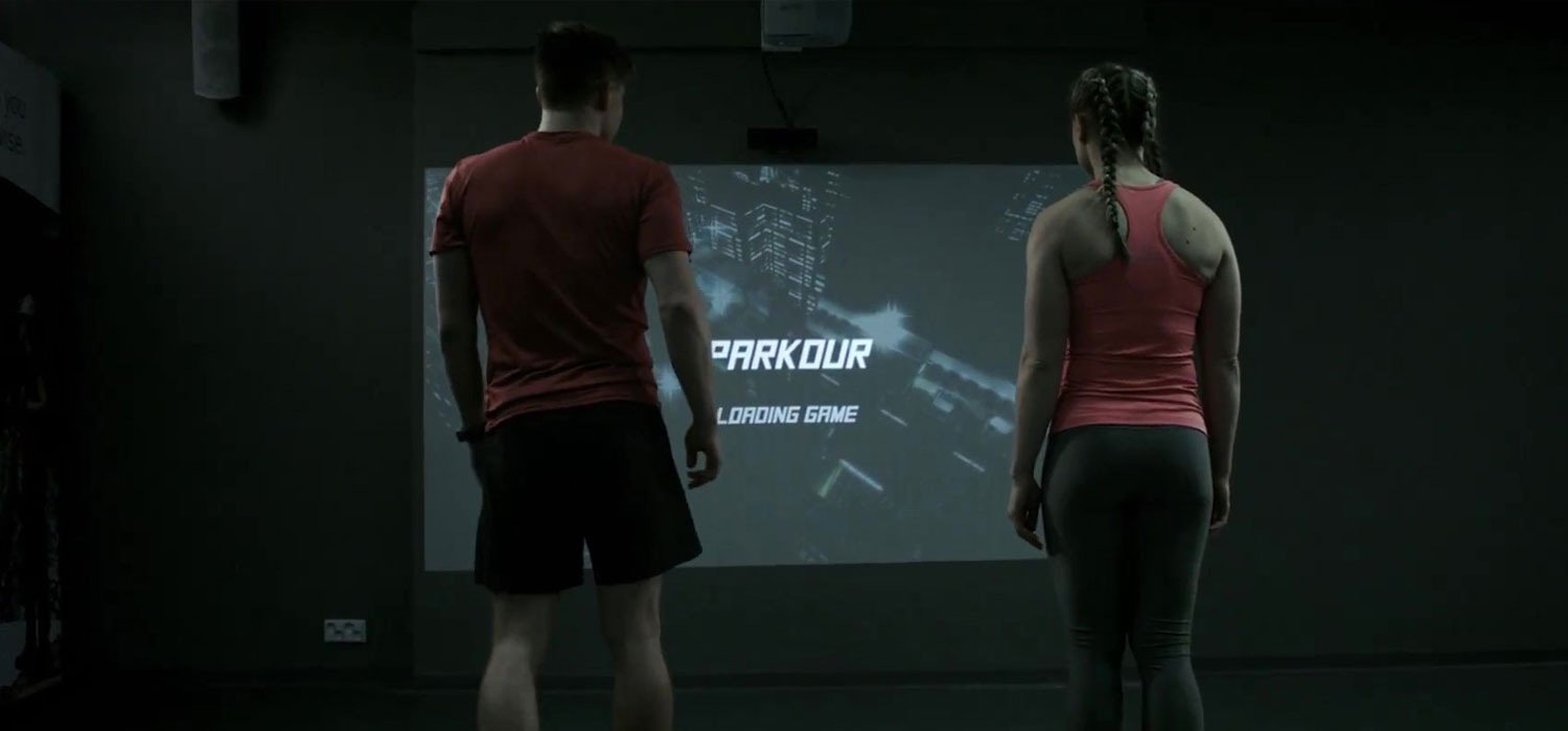 CSE Entertainment iWall fitness exergaming wall